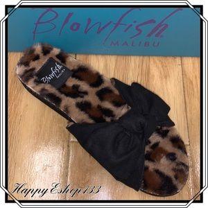 Blowfish Malibu Women's Faux Fur Sandals